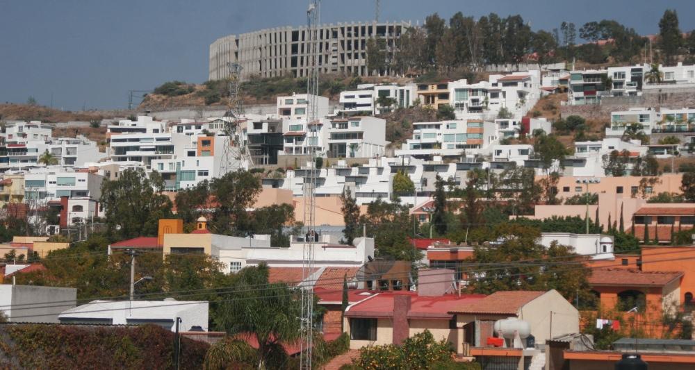 Vista panorámica de la Colonia Carretas y Loma Dorada, Querétaro. Foto: Ketzalkoatl