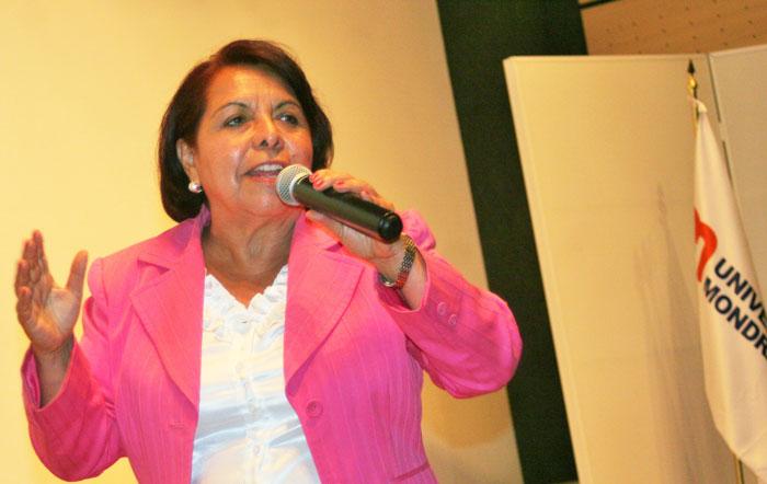 Celia Maya en la UCO. Foto: Equipo Celia Maya.